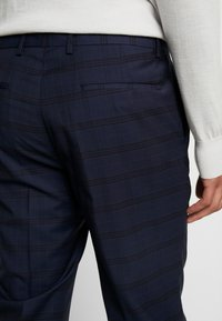 Calvin Klein Tailored - TELA CHECK NATURAL STRETCH - Trousers - blue - 3