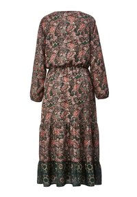 Angel of Style - Day dress - dunkelgrün,altrosa - 5