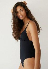 Mango - ELBA - Swimsuit - svart - 3