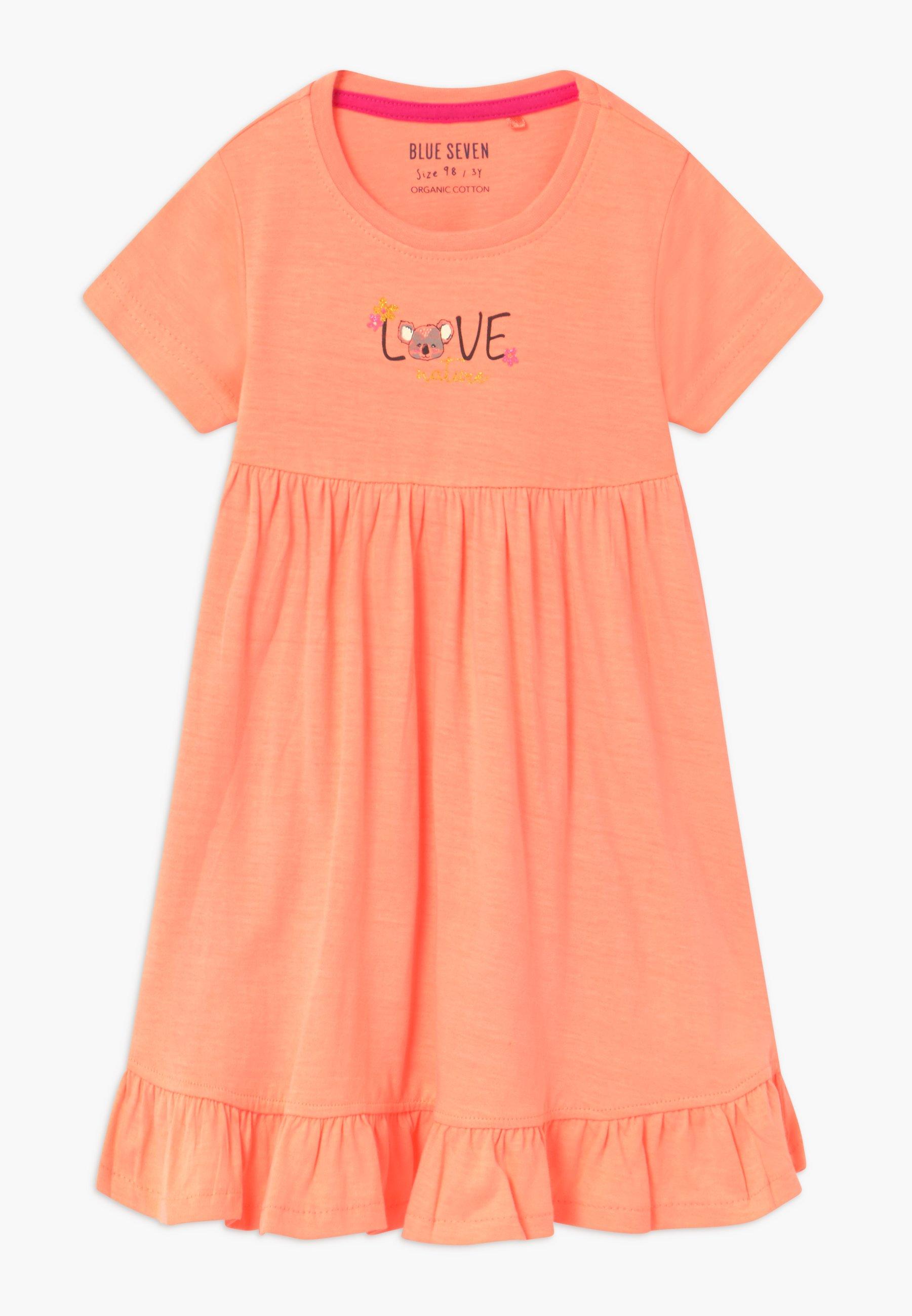 Kids SMALL GIRLS KOALA - Jersey dress - flamingo