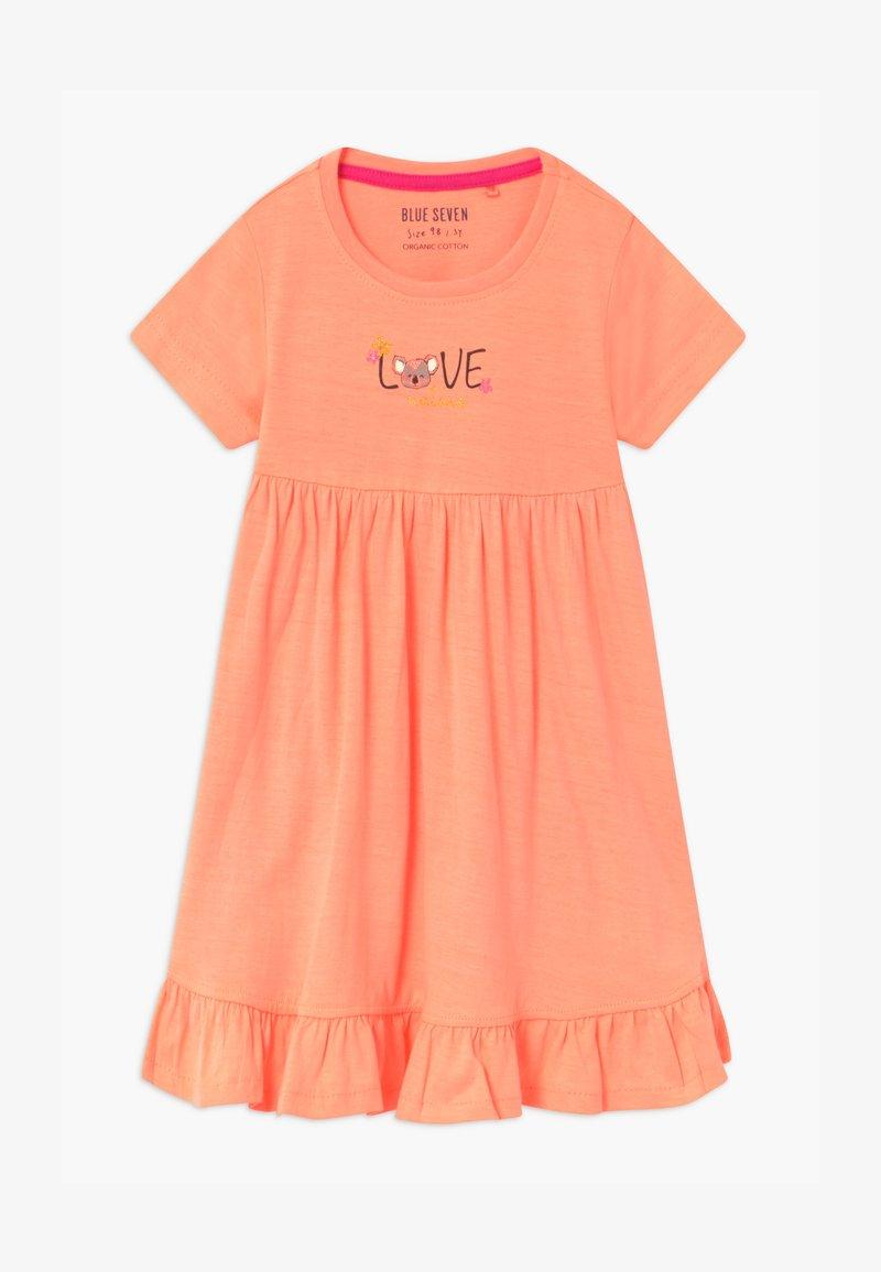 Blue Seven - SMALL GIRLS KOALA - Žerzejové šaty - flamingo