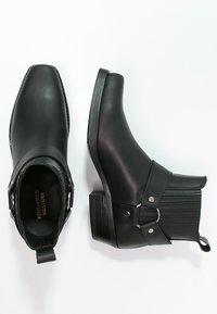 Kentucky's Western - Cowboy/biker ankle boot - black - 1