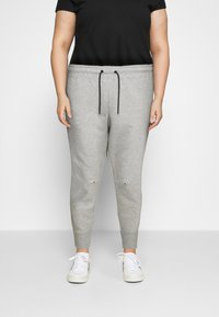 Nike Sportswear - Tracksuit bottoms - grey heather - 0