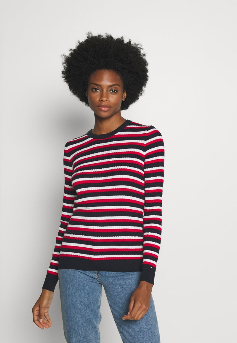 Tommy Hilfiger - ESSENTIAL CABLE - Jumper - global white