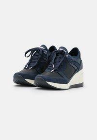 Dune London - EILAS - Sneakers laag - navy - 2