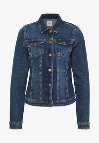 ONLWESTA - Denim jacket - dark blue denim