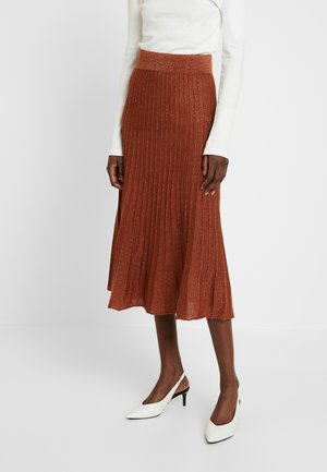 SLFZAMBA  - A-line skirt - ginger bread