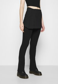 Weekday - SKIRT - Mini skirt - black - 2