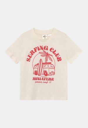 MINI TEE UNISEX - Camiseta estampada - tofu
