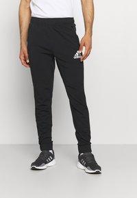 adidas Performance - Träningsbyxor - black/white - 0