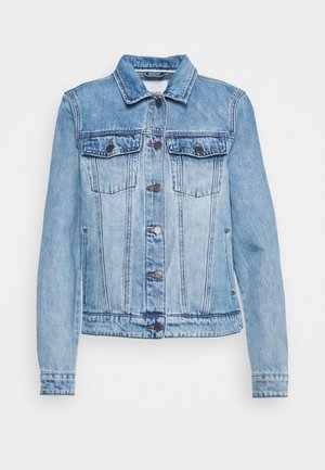 GLORIA JACKET - Džínová bunda - light blue denim