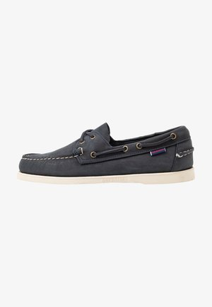 DOCKSIDES PORTLAND CRAZY HORSE - Boat shoes - blue navy