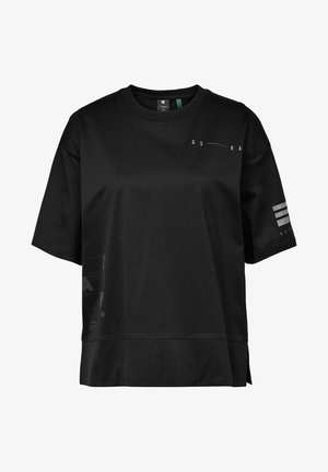 SMALL GRAPHIC CARRNI LOOSE - Print T-shirt - dk black
