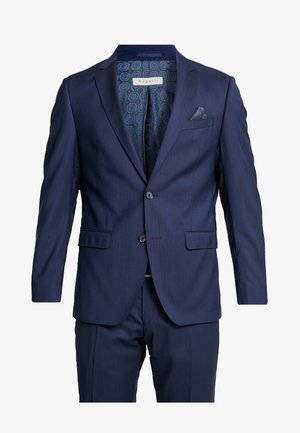 SLIM FIT - Kostym - blau