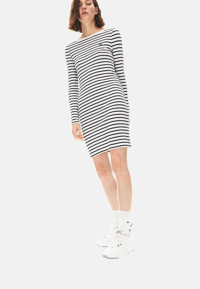 Day dress - blanc / bleu marine