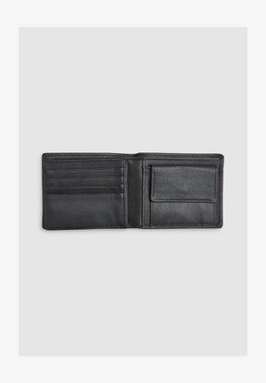 BLACK LEATHER STAG BADGE EXTRA CAPACITY WALLET - Wallet - black