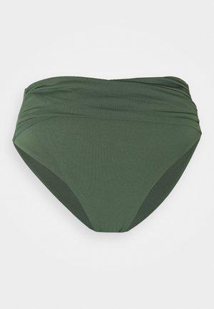 HIGH WAIST WRAP FRONT PANT - Spodní díl bikin - ivy