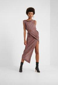 Vivienne Westwood Anglomania - VIAN DRESS - Maxi dress - aubergine - 0