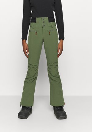 RISING HIGH - Snow pants - bronze green