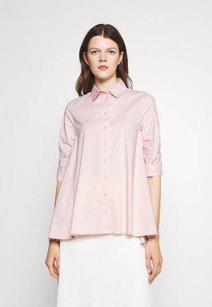 BENITA FASHIONABLE BLOUSE - Button-down blouse - soft rose