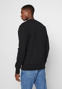 Bricktown - BLURRED SCREEN BIG - Sweatshirt - black