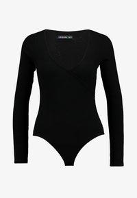 Even&Odd - BODYSUIT - Long sleeved top - black - 4