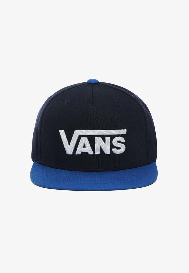 DROP  - Caps - dress blues-victoria blue