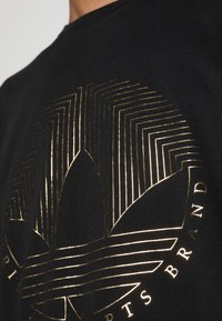 adidas Originals - DECO TREFOIL - T-shirt con stampa - black - 4