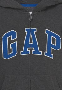 GAP - BOY NEW ARCH HOOD - Sweater met rits - charcoal grey - 2