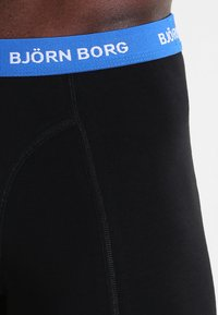 Björn Borg - SHORTS CONTRAST SOLIDS 3 PACK - Underkläder - black - 5