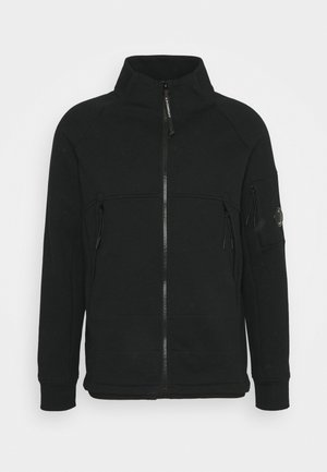 OPEN - Zip-up hoodie - black