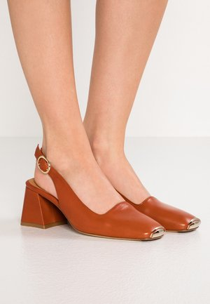 CANAR - Klasické lodičky - brown