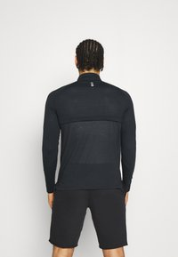Under Armour - STREAKER HALF ZIP - Sports shirt - black - 2