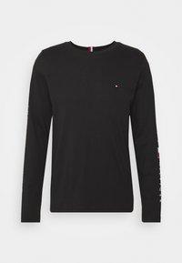 ESSENTIAL TEE - Long sleeved top - black