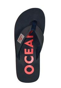 MADSea - Pool shoes - dunkelblau/rot - 1