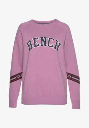Sweatshirt - dunkelrosa-rosa