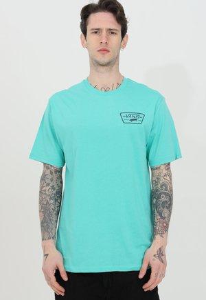Print T-shirt - waterfall/dress blues