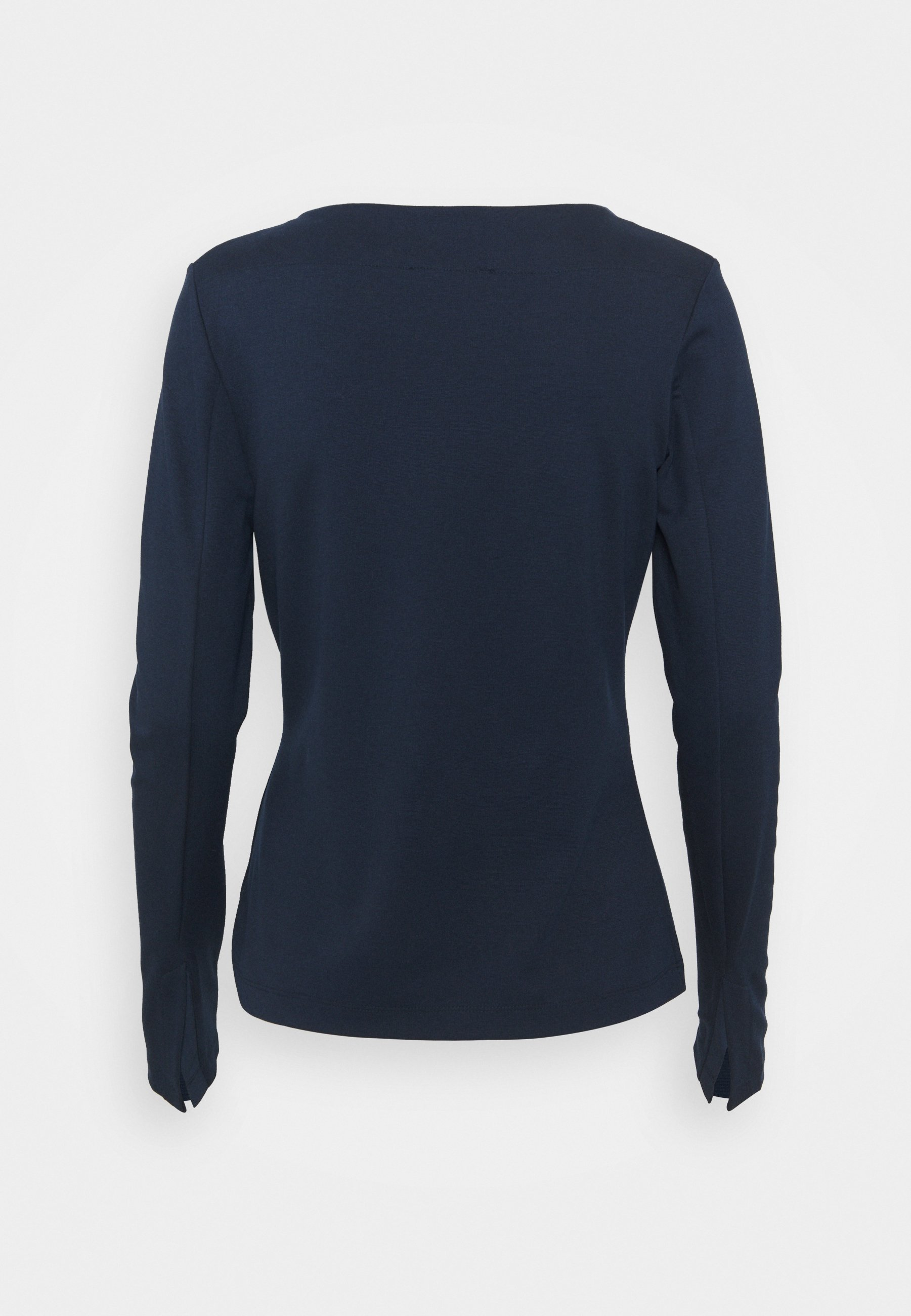 Women SQUARE NECK - Long sleeved top