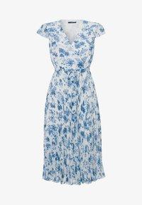 zero - MIT BLUMENDRUCK - Day dress - fresh blue - 4