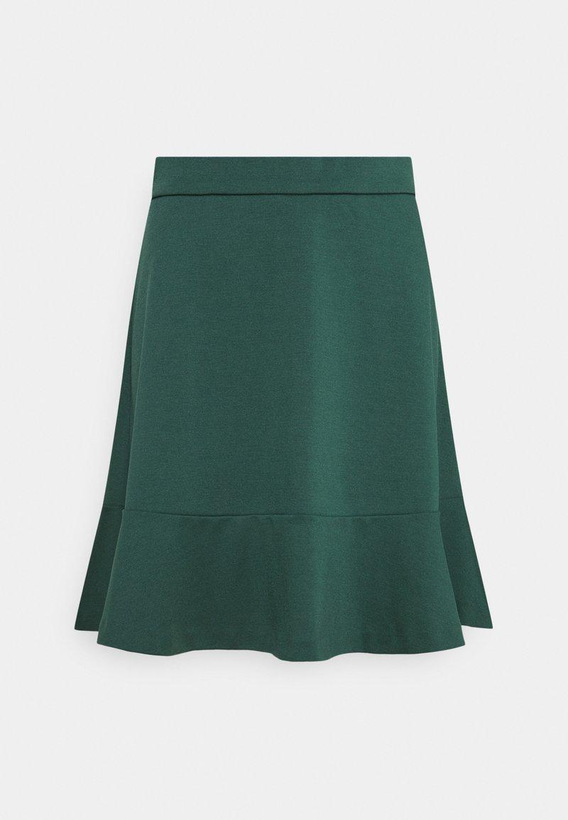 b.young - TIMONA SKIRT - A-line skirt - jungle green