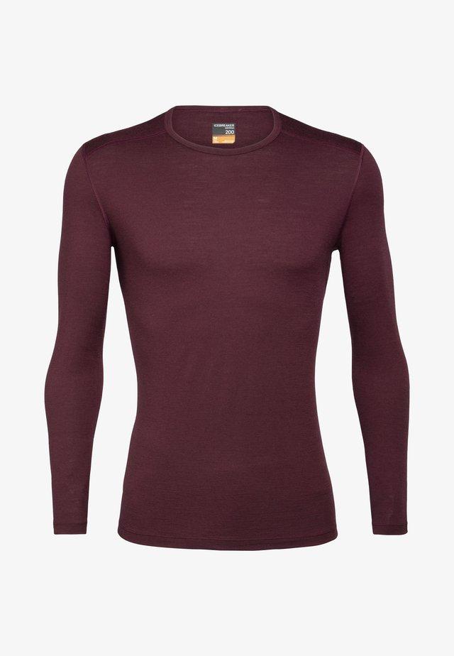 T-shirt à manches longues - redwood