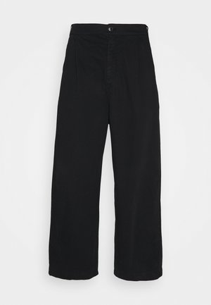 NEW TANOI TROUSERS - Pantalon classique - black