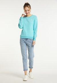 Schmuddelwedda - Sweatshirt - rauch aqua melange - 1