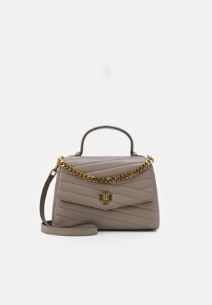 KIRA CHEVRON TOP HANDLE SATCHEL - Bolso de mano - gray heron