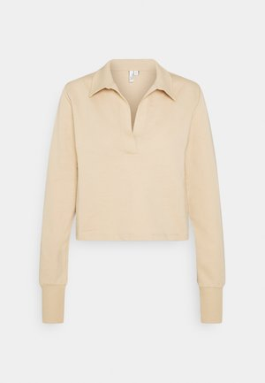 YOUR BEST COLLAR  - Langærmede T-shirts - beige