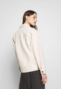 American Vintage - SNOPDOG - Denim jacket - ecru - 2