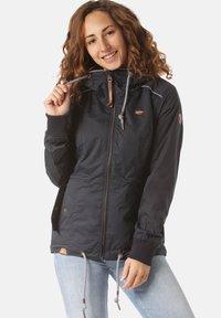 Ragwear - Waterproof jacket - blue - 0