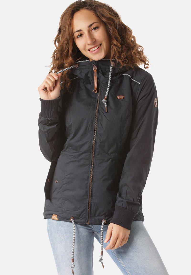 Ragwear - Waterproof jacket - blue