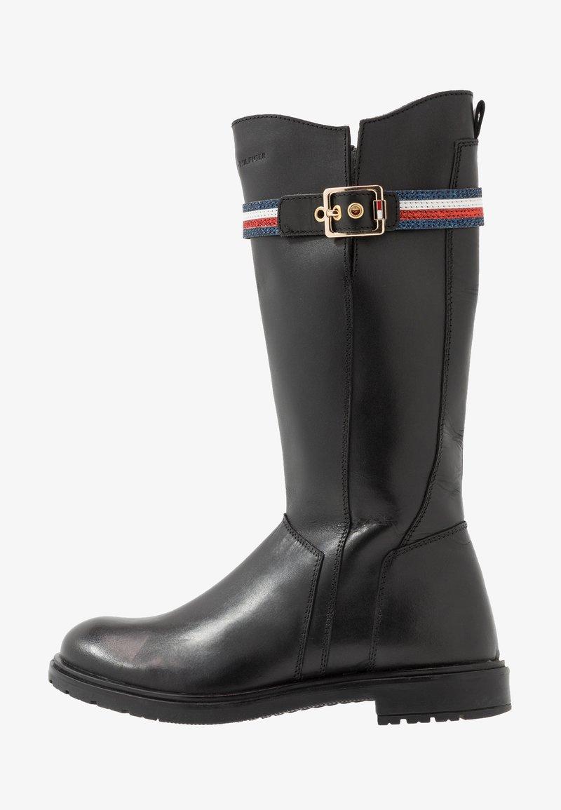 Tommy Hilfiger - Vysoká obuv - black