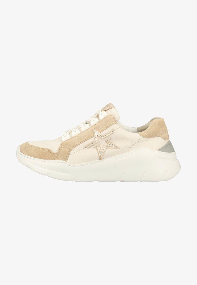 Sneakers basse - beige/white